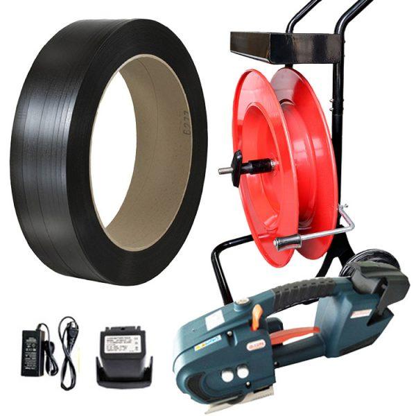 páskovací-sada-TES-12-16mm-PP-páska-odvíječ